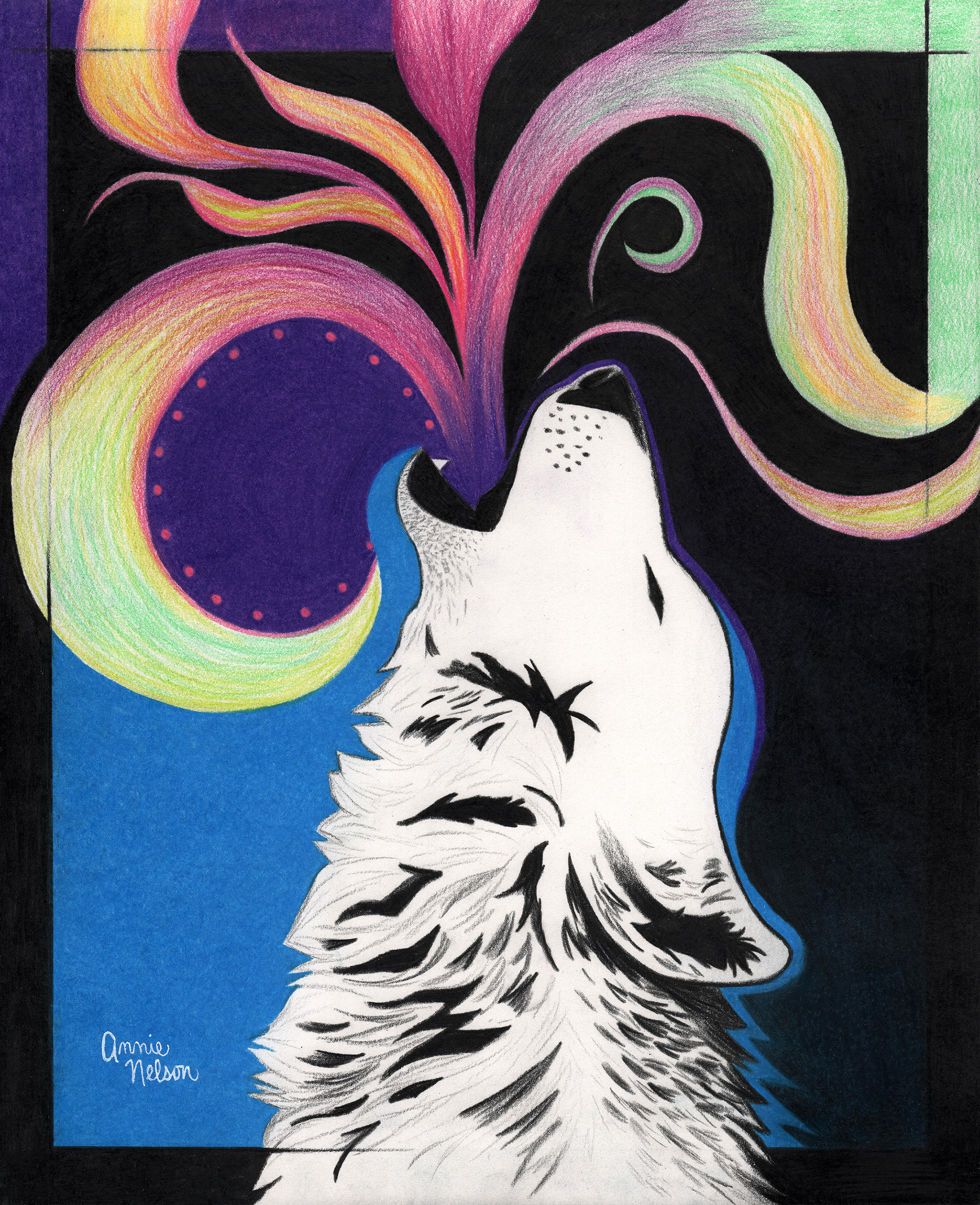 Live And Let Howl Art Howling For Wolves